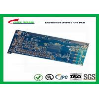 Best Blue 20 Layer Quick Turn PCB Prototypes 3.5MM Immersion Gold 0.25mm Hole wholesale