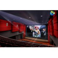 Best Huge Amazing 4D Movie Theater with Metal Flat Screen , Genuine Leather + Fberglass wholesale