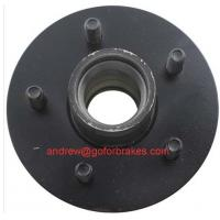 Best first-hand chinese OEM manufactures,2,000-lb Axles,5 on 4-1/2 trailer hub. wholesale