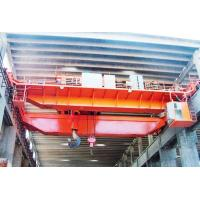 Buy cheap Factory price QD type 32/5t bridge crane double beam overhead crane with two hooks from wholesalers