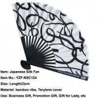 China Reliable Quality Silk Hand Fan Japanese Style on sale