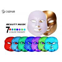 Best Fight Acne LED Light Therapy Face Mask 7 Color Photon Led Skin Rejuvenation wholesale