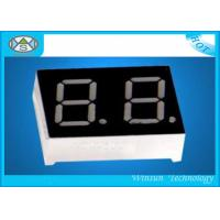 Best High Lumen 2 Digit 7 Segment Display 0.5 Inch For Digital Information , 25X19X8 Mm wholesale