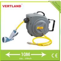 China Retractable Water Hose Reel , auto - rewind water hose reel GS100C 3/8 (9.8*15.8mm) 10m (L) on sale