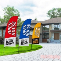 Best Eye Catching Swooper Teardrop Banner Flags for Advertising wholesale