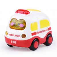 Best Hot sale Hands Pushing tuck inertia toy car inertia toy helicopter crane Inertia Police Vehicle fire engine for kid wholesale