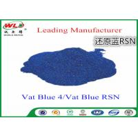 Best Cotton Dyes Blue Dye Stuff Rsn Vat Blue 4 Chemicals Used In Textile Dyeing wholesale