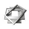 Cheap Anodized Aluminum Solar Panel Frame , Aluminum Extrusion Profiles wholesale