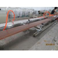 Cheap WPC Profile Plastic Extrusion Equipment With CE / ISO / BV Certification for sale