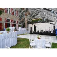 Cheap High Strength White Waterproof Wedding Event Tents Large A SHAPED Tent For 600 Seater for sale