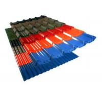 Best Colors Coated Corrugated Roofing Sheets , Hot Rolled Corrugated Metal Panels wholesale