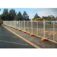 Cheap Interlocking Removable Steel Temporary Fencing , Portable Fence Panels for sale