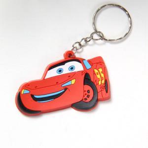 Best 3D soft rubber car key chain wholesale
