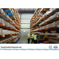 Cold Rolling Steel Pipe Storage Double Sided Cantilever Rack for Warehouse