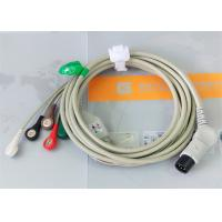 Best TPU Material Patient Monitor Accessories One Piece ECG Cable Compatible M&B wholesale