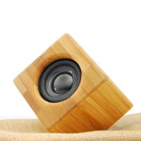 Best Professional metal case wireless bluetooth bamboo speaker wholesale