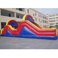Best Indoor / Outside Inflatable Obstacle Course Training Course Equipment wholesale