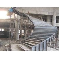 Quality Customized Q235 Durable Structural Steel Stairs 8mm Thickness Easy Installation wholesale