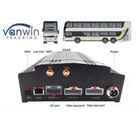 Best 8 channel car security dvr recorder Built-In 3G / 4G / WIFI / G-Sensor DVR System for Bus wholesale
