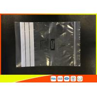 Best Customized Polyethylene Industrial Ziplock Bags , PE Zip Bags With Great Clarity wholesale