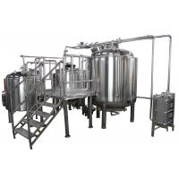 Best 1000L Anti-aging Home Beer Brewing Equipment , Craft Distillery Equipment wholesale