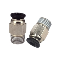 Best Approx 9.6mm 3D Printer PC4 01 Quick Connector For E3D V6 Thread wholesale