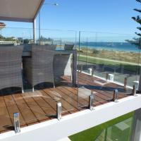 Cheap Modern High Quality Outdoor Stainless Steel Glass Balcony Railing Design for sale
