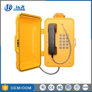 Best Railway Industrial Weatherproof Telephone Aluminium Weatherproof Case With Alarm Light wholesale