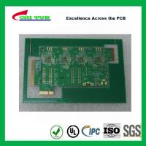 Best Aeronautics Printed Circuit Board 8L FR4 Immersion Gold + Hard Gold Quick Turn Pcb wholesale