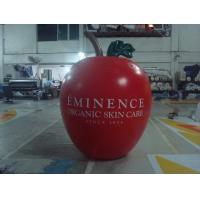 Cheap 6ft High Apple Fruit Shaped Balloons For Exhibition Display , Inflatable Hanging for sale