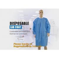 Best Disposable Isolation Non- Woven Gown,Disposable Hospital Non woven Medical White Lab Coat,Disposable Industrial Overall wholesale