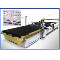 Continuous Up - Down Cutting Style Not Laser Cloth Cutting Machine 5000kg