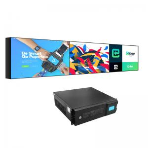Best FCC 450cd/M2 55 Inch Video Wall Display 22kg Bezel 5.3mm wholesale