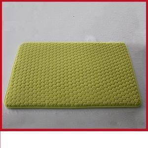 China Colored Luxury 17 X 24 Bath Rug , Slip Proof Memory Foam Bathroom Mats on sale