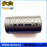 Best ICR18350 900mAh 3.7V wholesale