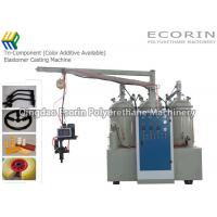 Quality Tri - Component Polyurethane Elastomer Foaming Machines Color Additive Available wholesale