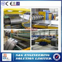 Buy cheap 0.5mm - 3mm Durable Steel Coil Slitting Machine Hr Slitting Line 12T Capacity from wholesalers