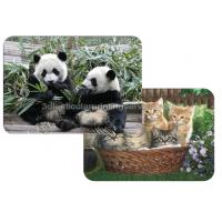 Cheap Custom Depth 3D Lenticular Placemats Decoration For Dining Room for sale
