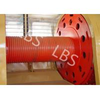 Best Carbon Steel Integral Cable Winch Drum for Marine Windlass Boat and Lifting Machinery wholesale
