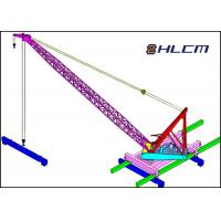 Quality Civil Engineering Bridge Construction , WD350t fixed mast crane equipped on Tianligong 007 crane ship wholesale