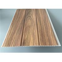 Best Three Groove Pvc Wall Panels For Office Easy Install Anti Bacterial 25 Cm*8 M wholesale