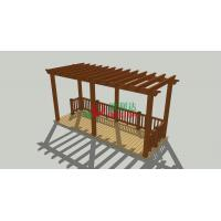 Cheap High Density DIY Pergola Kits , Home Depot Patio Pergola 5m * 2.5m * 2.85m for sale