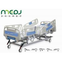 Best Electric Control Medical Hospital Beds MJSD04-08 With 4 - Section ABS Guardrail wholesale