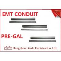 "Best Professional 1/2"" 3/4"" EMT Electrical Conduit with 1.07mm-1.65mm Thickness wholesale"