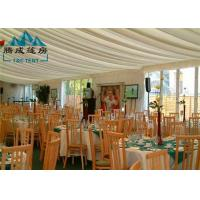 Best 2000 Capacity Marquee Outdoor Party Tents With Soft PVC Walls / Glass Walls wholesale