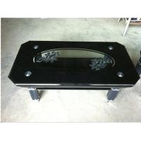 Details Of Black Tempered Glass Living Room Furniture Modern Center Table Top Glass Prices