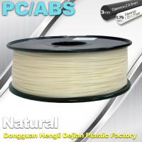 Best High Hardness Flexible 3d Filament PC / ABS Filament 3mm 1.75mm Filament wholesale