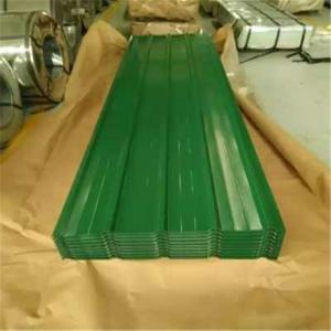Best Lightweight Corrugated Sheet Metal Panels , Galvanised Corrugated Steel Roof Sheets wholesale