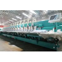 Best Multi Color  Computer Controlled Embroidery Machine Low Leakage Rate wholesale