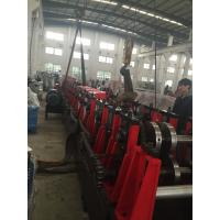 Best 3MM Q195-235 C Purlin Roll Forming Machine With 18 Forming Roller Steel Construction Area wholesale